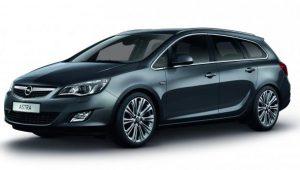 Opel Astra kombi automat 1,6 z rocznika 2014