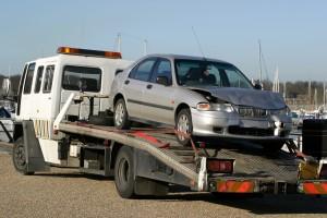 samochód zastępczy po kolizji drogowej auta