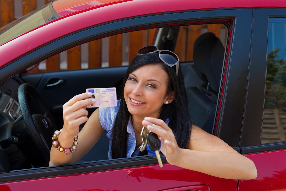 Zdany egzamin na prawo jazdy