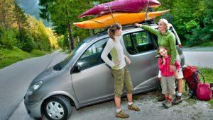 rodzinne auto idealne na kajaki
