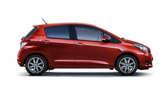 Toyota yaris samochód osobowy na wynajem