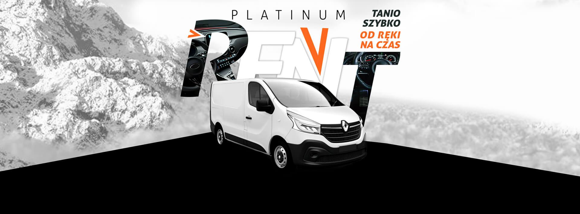 Wypożyczalnia samochodów Szczecin Platinum Rent